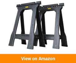 stanley folding work table buy the best saw horses by reading our top reviews