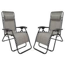 Anti Gravity Lounge Chair Caravan Global 2 Piece Infinity Zero Gravity Chair Gray Target