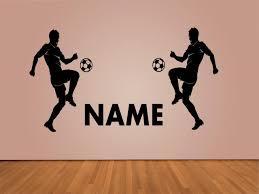 sport de chambre personnalisé nom mur de décalque de vinyle boy chambre sport