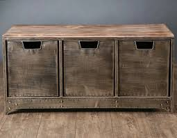 Metal And Wood Cabinet Iron Metal Drawers Tv Cabinet Custom American Country To Do The