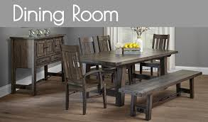 enthralling amish tapered mission table of dining room sets
