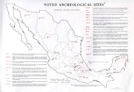 Mesoamerica Map Mexico Maps Perry Castañeda Map Collection Ut Library Online