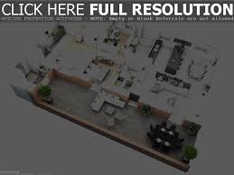 3 bedroom house plans 3d design homilumi with bat luxihome