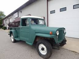 willys jeep pickup for sale rare 3 on the tree 1948 willys truck offroad for sale