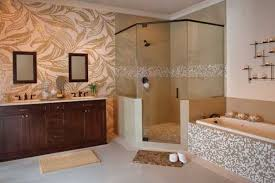 Animal Print Bathroom Ideas by Brown Bathroom Wall Tile Brown Granite Bathroom Decor And Tiles