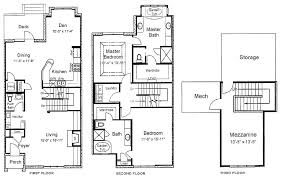 Two Storey Residential Floor Plan 3 Story House Plans Best 2 Storey Of Samples Small Sumptuous