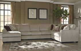 Benchcraft Furniture Fleece Laf Sofa Sectional