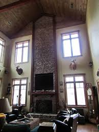 living room prairie style interior with craftsman home interior