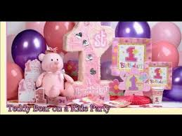 baby girl 1st birthday themes 1st birthday party themes for your baby girl