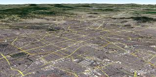 Tenochtitlan Map Aerial View Of Tenochtitlan Of The 14th Century Compared To Mexico