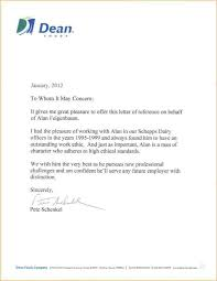 dean cover letters