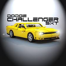Dodge Challenger Sxt - lego ideas dodge challenger sxt