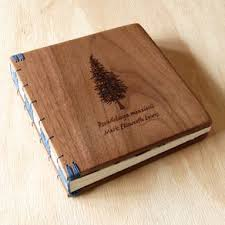 memorial guest book crafted unique guest book with wood covers custom wedding