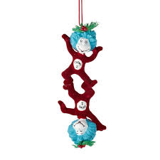 department 56 dr seuss thing 1 and thing 2 ornament