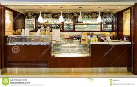 cova takeaway coffee bar counter editorial image image 48495270