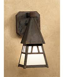 Craftsman Wall Sconce Arroyo Craftsman Ds 4 Dartmouth 5 Inch Wide 1 Light Outdoor Wall