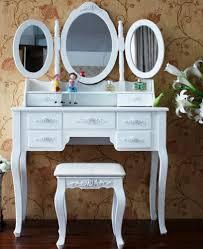 xxl schminktisch 3 spiegel frisierkommode frisiertisch