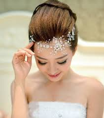 hair accessories wedding rhinestone handmade flower wedding hair accessories bridal