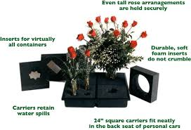 Floral Vases And Containers Q U0026a How Do You Transport Your Floral Arrangements Flirty