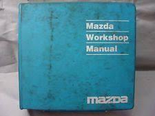 mazda protege service manual ebay