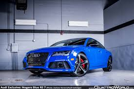 audi s4 rs audi exclusive nogaro blue rs 7 from the audi exchange quattroworld