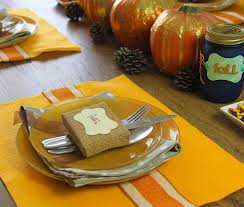 diy thanksgiving dinner table decor ideas fiskars