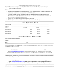 sample daycare form 10 examples in pdf word