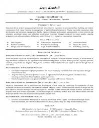 Oil And Gas Resume Template Construction Superintendent Resumes Sample 2 Cover Letter