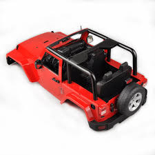jeep rock crawler 270mm hard body shell for hsp 1 10 rc jeep wrangler scx10 d90 rock
