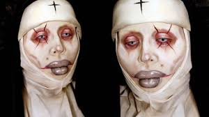 Youtube Halloween Makeup Tutorials by Michael Hussar Collab With Rawbeautykristi Halloween Day Eleven