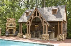 small outdoor kitchen designs outdoor living pool pool house with