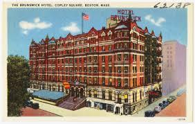 Map Copley Square Boston by The Brunswick Hotel Copley Square Boston Mass Digital