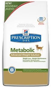 prescription diet canine metabolic dog food 12kg