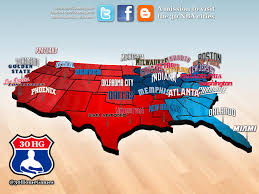 nba divisions map can someone explain to me why the grizzlies are in the