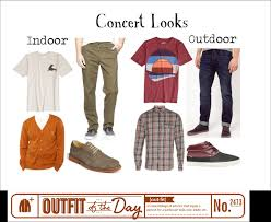 s of the day for an indoor and outdoor concert style