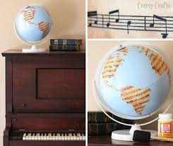 globe craft ideas ways to decorate with globes