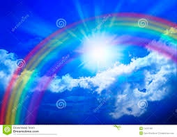 rainbow sky royalty free stock images image 14537169