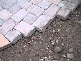 Block Patio Designs Backyard Pavestone Patio By Gardenhart Landscape Design In