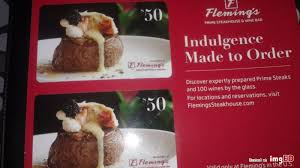 fleming s gift card 100 flemings gift card image on imged