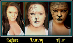 leopard halloween makeup ideas halloween makeup jaguar youtube