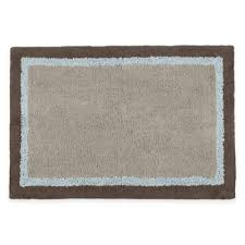Blue And Brown Bathroom Rugs Buy Blue Bath Rugs From Bed Bath Beyond