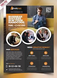 corporate flyer template free psd psdfreebies com