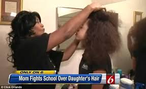 florida threatened with expulsion over her afro hair daily