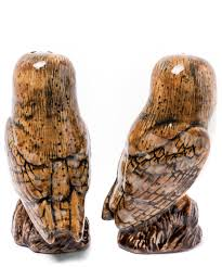 barn owl stoneware salt and pepper shakers liberty