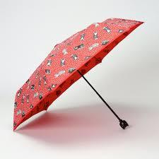 cat red polka cat print umbrella vintage style umbrellas lindy bop