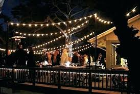 outdoor bulb string lights outdoor bistro lights estate outdoor wedding lighting string lights