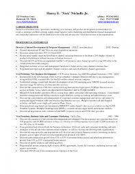 Resume Samples Marketing by Account Manager Resume Objective Best Business Template