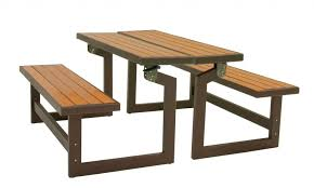 photo on captivating folding bench and picnic table combo