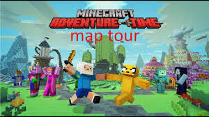 Time Map Minecraft Mashup Pack Adventure Time Map Tour Ep1 Youtube
