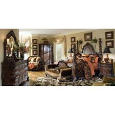 Four Poster Bedroom Sets Michael Amini Essex Manor Four Poster Configurable Bedroom Set